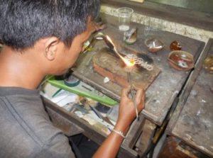 Zilversmederijen op Bali