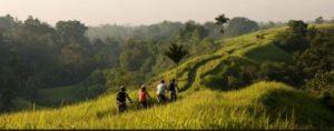 Mountainbiken op Bali