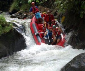 raften Ayung river Bali
