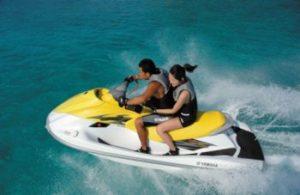waterscooters / jetskieen op Bali