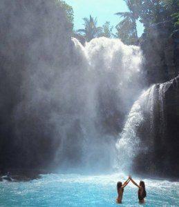 Watervallen in Bali
