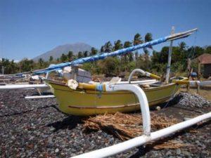 Lokale vissers boot