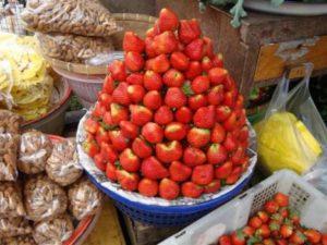 Lokale markten op Bali